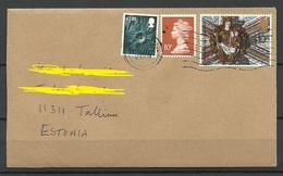 GREAT BRITAIN 2019 Cover Sent To Estonia - 1952-.... (Elizabeth II)