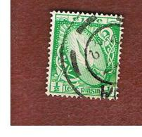 IRLANDA (IRELAND) -  SG 111  -  1940  SWORD OF LIGHT 1/2 WATERMARK E    - USED - 1937-1949 Éire