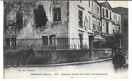 CPA  De  COMMERCY   (55)   -  Quelques  Traces  D' Un  Léger  Bombardement  En  1915   //    TBE - Commercy