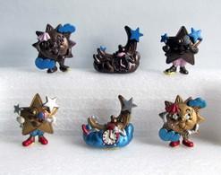 Kinder 1994 : Série Allemande 1994-2000 : Sonne, Mond Und Sterne (6 Figurines Avec 2 BPZ) - Lots
