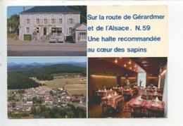 Etival Clairefontaine : Hotel Restaurant De La Gare - Maurice Vigneron  (multivues N59 Route De Gérardmer Coeur Sapins) - Etival Clairefontaine