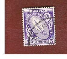 IRLANDA (IRELAND) -  SG 118  -  1940  SWORD OF LIGHT 5  - USED - 1937-1949 Éire