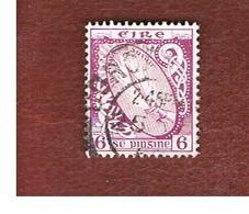 IRLANDA (IRELAND) -  SG 119b  -  1940  SWORD OF LIGHT 6  - USED - 1937-1949 Éire