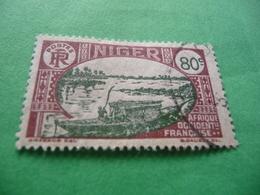 TIMBRE   NIGER    N  44    COTE  1,50   EUROS   OBLITÉRÉ - Oblitérés
