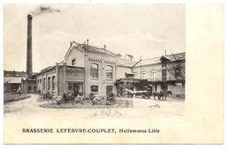 D 59 . CPA . HELLEMMES - LILLE . BRASSERIE LEFEBVRE COUPLET .  TOP - Lille