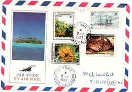 Poro 1983 - Lettre Brief Cover - Calédonie - Nouvelle-Calédonie