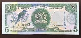 TRINIDAD TOBAGO P42C 5 DOLLAR 2006 UNC - Trinidad & Tobago