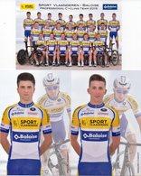 Cyclisme, Serie Sport Vlaanderen 2019 - Ciclismo