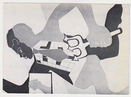 26886 Carton Invitation Exposition Negritude CELESTINO Galerie Oeuil De Boeuf -rue Quincampoix Paris 1976 - Pittura & Quadri