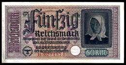 DEUTSCHLAND - ALLEMAGNE - 50 Reichsmark - 1939-45 - WW II - R140 - XF / SUP - [ 4] 1933-1945 : Troisième Reich