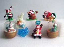 Kinder 2002 : Série Allemande : Weihnachtsmotive Aus Adventkalender (2001-2002-2003) (7 Figurines Avec 6 BPZ) - Lots