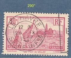 N° 290°  Le Puy En Velay  Belle Oblitération - France