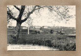 CPA - SAINT-VICTOR (12) - Aspect Du Bourg Et Du Tacot Du Photographe Dans Les Années 20 - Saint Victor