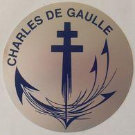 Autocollant PA CHARLES DE GAULLE - Bateaux