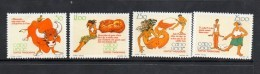 1990 Cape Verde Literacy Stories Fishing  Complete Set Of 4 MNH - Cape Verde