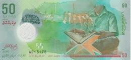50 RUFIYAA 2015 POLYMERE - Maldives