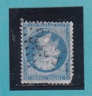 N° 22    GC  3334   SAUZE-VAUSSAIS   / 75- DEUX-SEVRES   - REF ACDIV- Ind 5 - 1862 Napoléon III