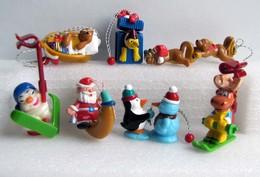Kinder 2005 : Série Complète : Les Décorations De Noël (8 Figurines Avec 2 BPZ) - Lots