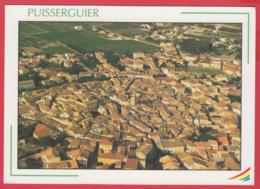 CPM*34- PUISSERGUIER - Vue Aérienne - LA CIRCULADE ** SUP *2 SCANS - Other Municipalities
