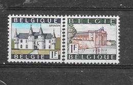 België 1967 Y&T N° 1423/24 ** - Neufs