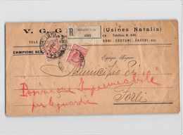 8922 MILANOX FORLI - CAMPIONE SENZA VALORE - 1900-44 Victor Emmanuel III
