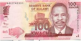 100 KWACHA 2012 - Malawi