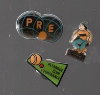 PIN'S PETANQUE................BT11 - Pétanque