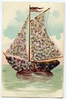 SURREAL : SAILING SHIP OF FLOWERS (BIRTHDAY??) - Flowers