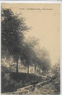 46 FIGEAC . Les Tours , édit : Lib Baudel St-Céré , écrite En 1916 , état Pli Naissant Mais Bien - Figeac