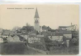 CPA 12 Aveyron Gramond Vue Générale - Sonstige Gemeinden