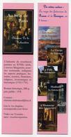 Marque-page - Au Sein De Paris - Roman Historique Par Christian De La Hubaudière. + Saga Des Faïenciers Rouen Quimper - Marque-Pages