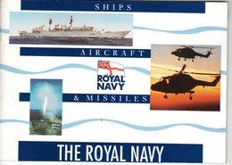 THE ROYAL NAVY ( SHIPS, AIRCRAFT AND MISSILES ) - Bateaux