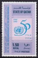Qatar, 1995, 1067, 50 Jahre Vereinte Nationen (UNO). MNH ** - Qatar