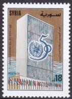 Syrien, 1995, 1944, 50 Jahre Vereinte Nationen (UNO). MNH ** - Syrië
