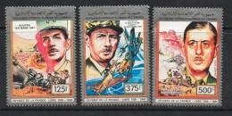 1991 Comoros  DeGaulle  Complete Set Of 3 MNH - Comores (1975-...)