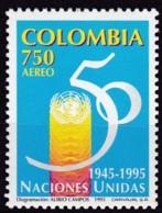 Kolumbien, 1995, 1987, 50 Jahre Vereinten Nationen (UNO). MNH ** - Colombia
