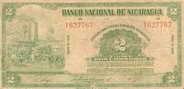 2 CORDOBAS 1945 - Nicaragua