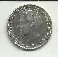 200 Réis 1871 D. Luis I Portugal - Portugal