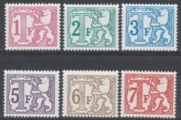 Taxe  Tx 66/71 Polyvalent Papier ** - Stamps