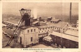 France > 68] Haut-Rhin > Mulhouse Mines De Potasse D'Alsace Mine Amélie Puits Treuil - Mulhouse