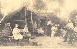 AIX-en-OTHE - Une Famille De Charbonniers Dans La Forêt D'Othe - Cecodi N'998 - Frankreich