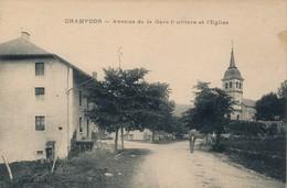 I71 - 01 - CHAMPDOR - Ain - Avenue De La Gare - Fruitière Et L'Église - France