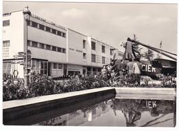 AEREO - PLAN - AEREO + ELICOTTERO - FIERA MILANO 1959 . SPEDITA 24-4-59 - 1946-....: Era Moderna