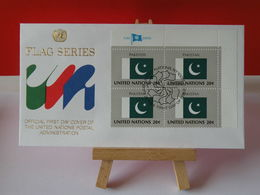 Nations Unies > Office De Genève - Pakistan - 21.9.1984 - FDC 1er Jour - FDC