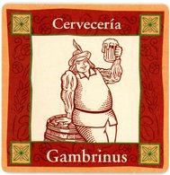 Espana. Cerveceria Gambrinus. Spain. Espagne. Spanien. Spanje. - Portavasos