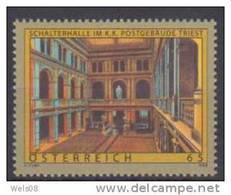 """Österreich 2008:""""Postgebäude Triest""""  Postfrisch (siehe Foto/Scan) - 1945-60 Unused Stamps"""