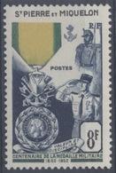 France, Saint Pierre Et Miquelon : N° 347 Xx Neuf Sans Trace De Charnière Année 1952 - Neufs