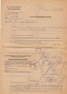 DOCUMENT REICH 1943 - Allemagne