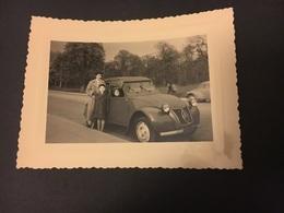 Auto Citroën 2 Cv Années 1950-55 Réal Photo - Automobile