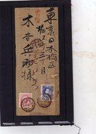 GIAPPONE Letterina Locale In Carta Di Riso - Japón